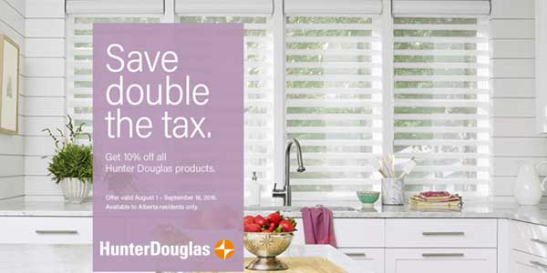 Sale Hunter Douglas Blinds Calgary NW