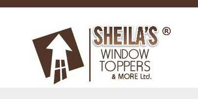 Sheila's Window toppers logomark