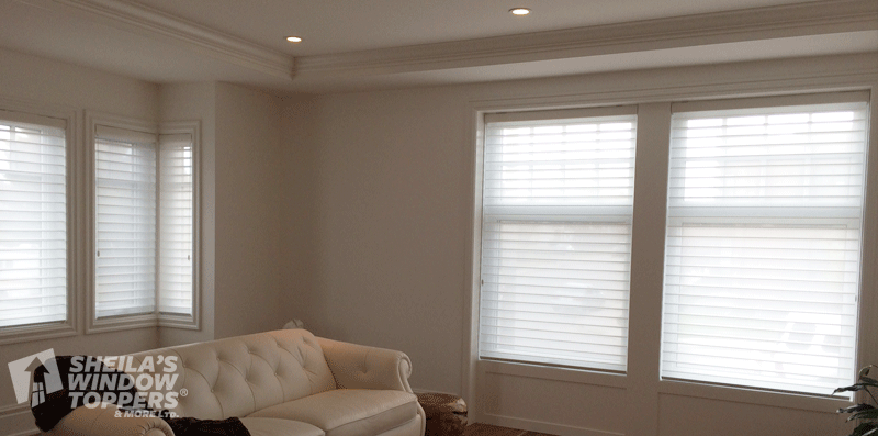 douglas shading sheers and silhouette in hunter blinds toronto