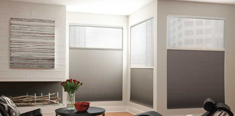 compressed window n shades serena shade blinds the b depot colors room darkening home honeycomb motorized available cellular treatments